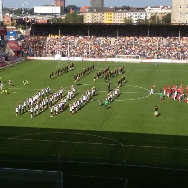 Tag der Legenden 2012 - Choreographie Stadionshow Pic8