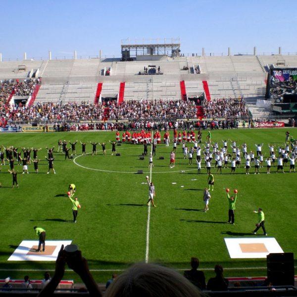 Tag der Legenden 2012 - Choreographie Stadionshow Pic1