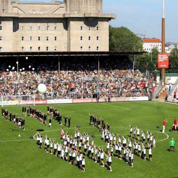 Tag der Legenden 2012 - Choreographie Stadionshow Pic2