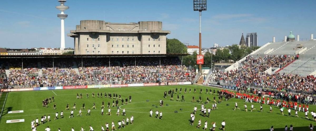 Tag der Legenden 2012 - Choreographie Stadionshow Pic5