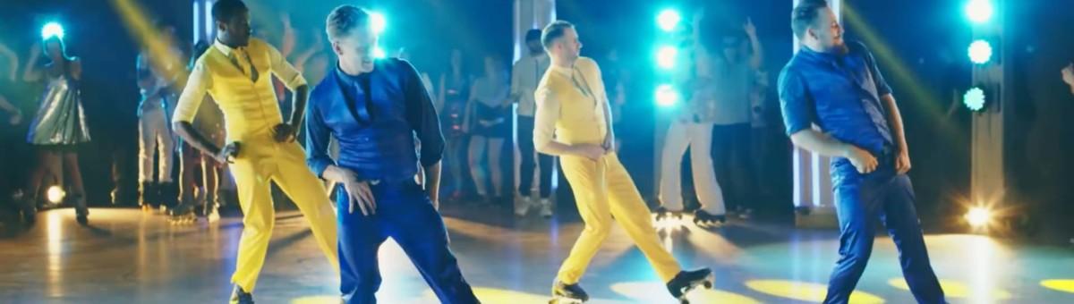 Choreografie zum Werbespot WC Frisch Kraft Aktiv von Henkel