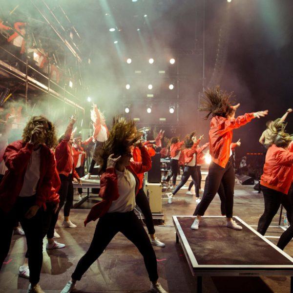 Kraftklub - Choreographie Liveshow 2017 Pic10 - Foto Philipp Gladsome