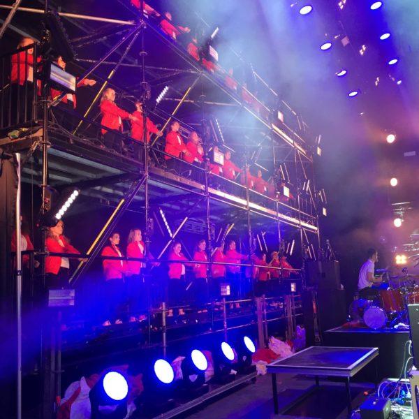 Kraftklub - Choreographie Liveshow 2017 Pic3