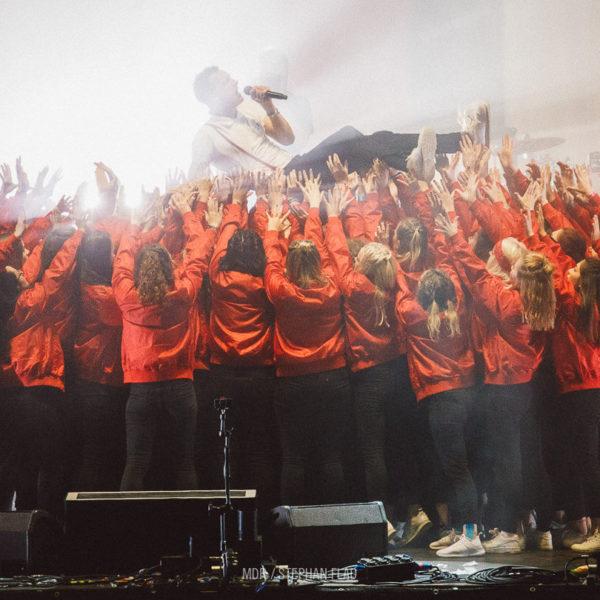 Kraftklub - Choreographie Liveshow MDR Sputnik 2017 Pic15- Foto Stephan Flad